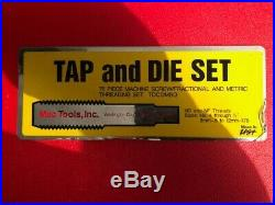 Mac-Tools 76 pc. Tap & Die Set with Case TDCOMBO