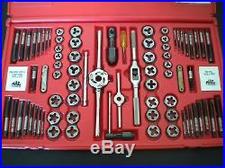 Mac Tools 76 Pc Tap And Die Set Sae And Metric Tdcombo