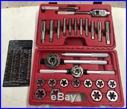 Mac Tools Td25mets 25 Piece Large Size Tap And Die Set 14 24mm
