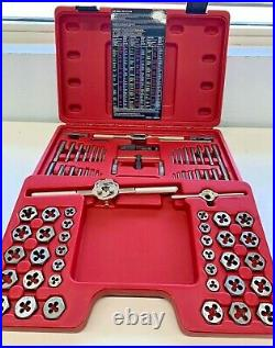 Mac Tools TD76COMBOS 76 PC. Tap and Die Set in Hard Case, Great Condition