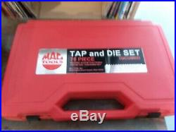 Mac Tools TDCOMBO 76 Piece Standard & Metric Tap + Die Set