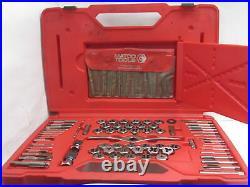 Matco 6754dplus 116-Piece Deluxe Tap, Die and Drill Bit Threading Set