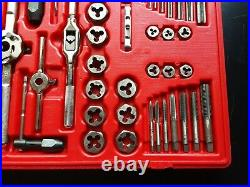 Matco 676TDP 117 Piece Deluxe Tap and Die Threading Set Standard & Metric Al34F