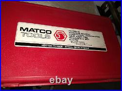Matco (676TD) 76 Piece Fractional/Metric Tap And Die Threading Set LIKE NEW