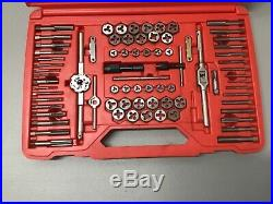 Matco 676TD 76 Piece Fractional & Metric Tap & Die Set in a Case