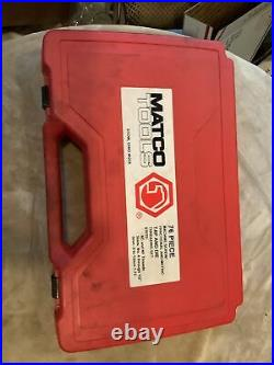 Matco 676td, 76 Pc Tap And Die Set, Complete Set