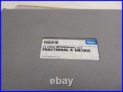 Matco TDK51 51 Piece Rethreading Set Fractional & Metric Free Shipping! #GR13