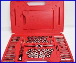 Matco Tools 116 Piece Deluxe Tap and Die Threading Set 676TDPLUS missing pcs