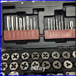 Matco Tools 40 Piece Metric Tap & Die Set In Case 40mtds Excellent Condition