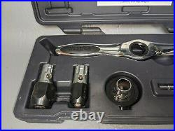Matco Tools 5 Piece Ratcheting Tap and Die Set with Carrying Case MST505 (8E)