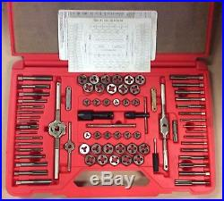 Matco Tools 676TD 76 Piece Combination Tap and Die Set Drill