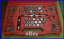 Matco Tools 73/75pc Tap Die Threading Set Case NEW 675TD