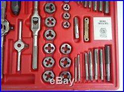 Matco Tools 75 Piece SAE / Metric Tap and Die Threading Set 676TD (J77C)