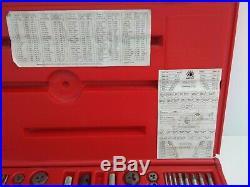 Matco Tools 75 Piece SAE / Metric Tap and Die Threading Set 676TD (J77C)