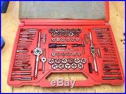 Matco Tools 76 piece tap die threading set 676TD