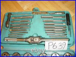 Matco Tools Automotive Metric Tap & Die Set In Blue Case 41 Piece 6312
