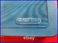 Matco Tools Automotive Metric Tap & Die Set In Blue Case 42 Piece 6312