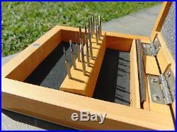 Mini Tap and Die Set 14 Taps Screwplate Micro Tool Jewelry Making & Watch Repair