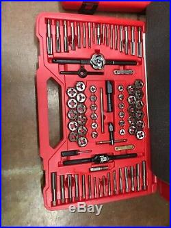 NEW! Big Snap-on TDTDM500A Combination Metric and SAE Tap and Die Set