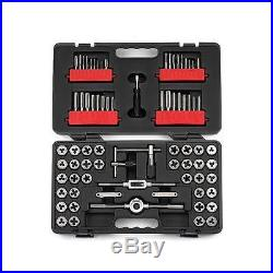 NEW CRAFTSMAN 75 PIECE PC TAP AND DIE SET INCH MM SAE STANDARD METRIC TOOLS CASE