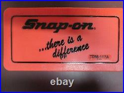 NEW. SEALED. Snap-On Tools 41 Piece Metric Tap and Die Set. TDM-117A
