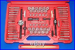 NEW Snap-On Tools Huge 76 Piece Combination Tap and Die Set TDTDM500A
