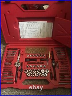 NEW! Snap-On Tools TDTDM500A 76 pc Combination Tap and Die Set