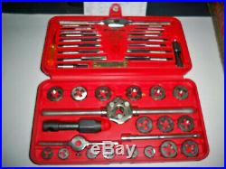NEW Snap-on TDM117A 41-piece 3 to 12 mm NF / NC METRIC Tap and Die Set MADE USA