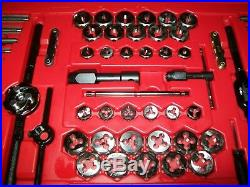 NEW Snap-on TDTDM500A 76-piece Tap and Die Set METRIC & SAE in Case NIB
