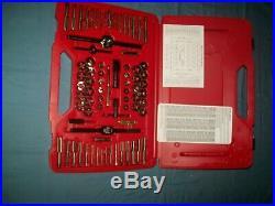 NEW Snap-on TDTDM500A 76-piece Tap and Die Set METRIC & SAE in Case Unused
