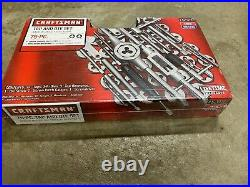 New Craftsman 75 PC Combination Tap & Die Carbon Steel Set 52377 + Free Shipping