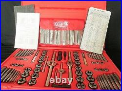 New Matco Tools 117 Piece Deluxe Tap And Die Threading Set 676tdp Pre-owned