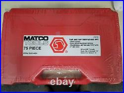 New Sealed Matco USA # 675td New Style 75 Piece Master Tap & Die Set Free Ship
