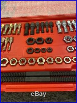 New Snap On RTD48 48 Pc Rethreading Set Fractional And Metric