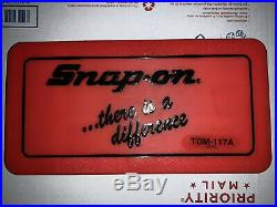 New Snap-on TDM-117A 41 Piece Tap And Die Set