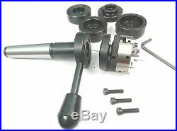 New Supreme Tap & Die Holder Set MT-3 with 50 mm 3 jaws self centering chuck