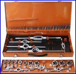 RICHMANN metric tap and die set 54 pcs M3-M20, Tungsten steel DIN 352 (C9183)