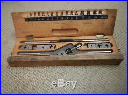 Rare Vintage Bicycle Tap and Die Set for Racing Bicycles