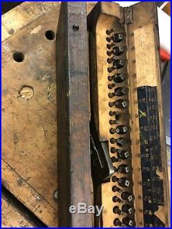 Rare Vintage Bicycle Tap and Die Set for Racing Bicycles