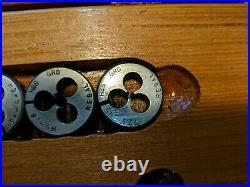 Regal Beloit Tap And Die Set In Wooden Box Helios Metrisch 60 gunsmithing