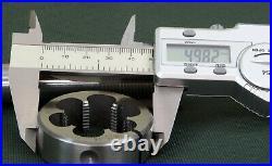 Remington 700 Gunsmith tap & die set 1 & 1/16 inch x 16 TPI