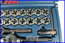 SEARS CRAFTSMAN 50 Piece Tap & Die Set Model 7/92 Made in USA(46553)