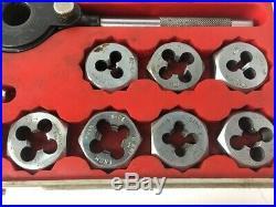 SEARS CRAFTSMAN 5201 KROMEDGE 41 Pc TAP & HEXAGON DIE SET AE (PPJ012132)