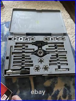 SEARS CRAFTSMAN KROMEDGE 28pc Metric Tap & Die Set # 9 52093 Made in USA