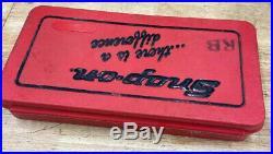 SNAP ON 41pc SAE Tap & Die Set Model #TD-2425
