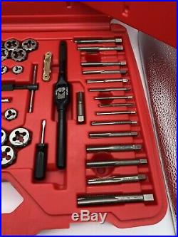 SNAP ON 76 piece Combination Tap and Die Set TDTDM500A Missing 10mm