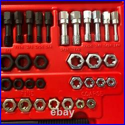 SNAP ON RTD48 48-Piece 48 pc Master Rethreading Tap and Die Set USA (NEW)