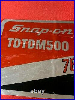 SNAP-ON TAP AND DIE TOOL SET TDTDM500 Standard and Metric 76 pc. Full Set