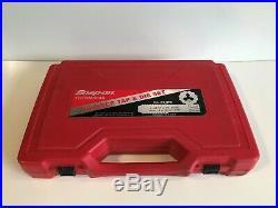 SNAP ON TDTDM500A 76 PIECE TAP & DIE SET With HARD CASE. (TEA031505)