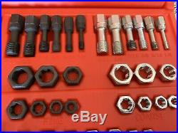 SNAP-ON TOOLS RTD48 48 Piece Rethreading Set Fractional & Metric. TWIST N SHOUT
